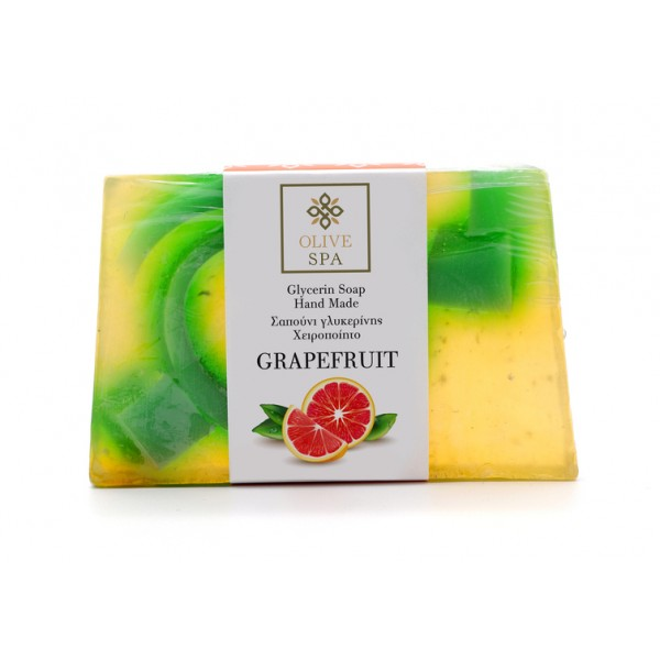 Hand Made Vegetable Glycerin Soap - Grapefruit