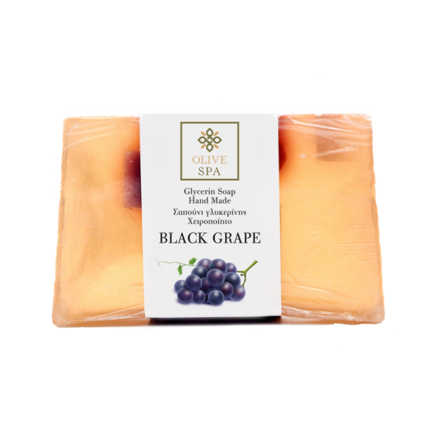 Hand Made Vegetable Glycerin Soap – Black Grape