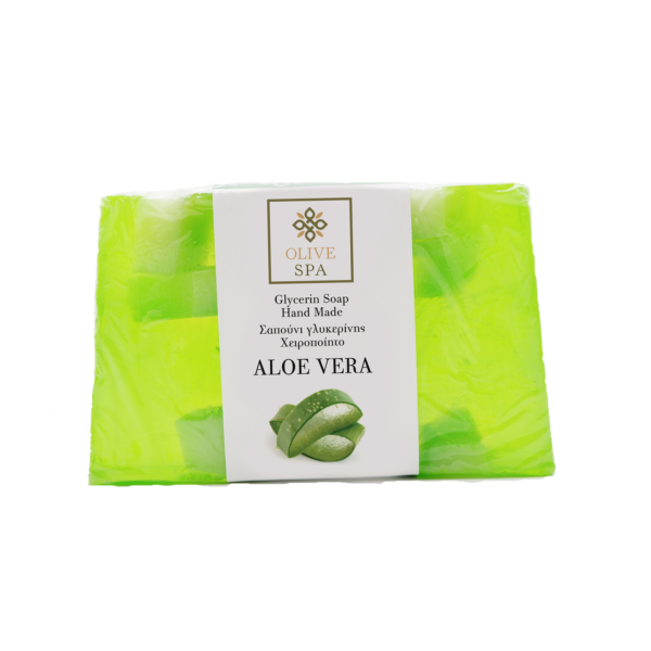 Hand Made Vegetable Glycerin Soap – Aloe Vera