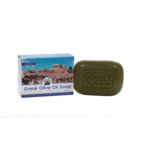 Olive Oil Soap From Greece With Love Acropolis