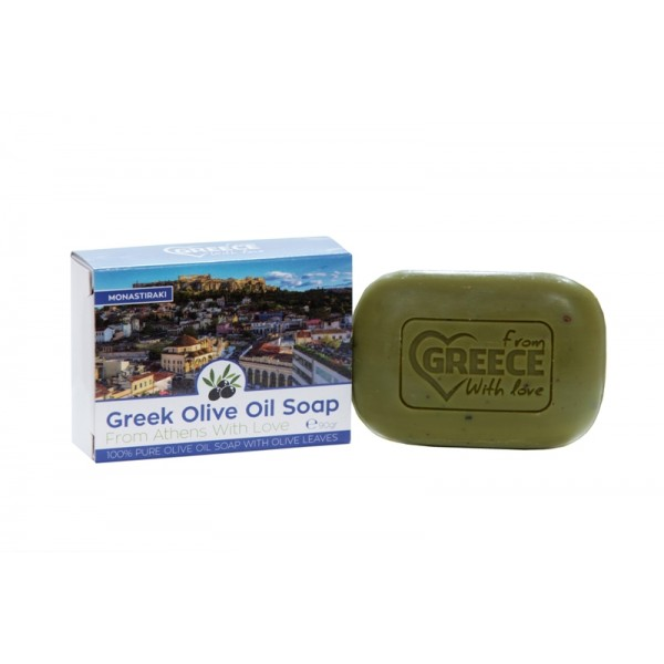 Olive Oil Soap From Greece With Love Monastiraki