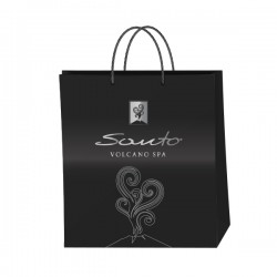 Santo Volcano Spa luxury gift bag