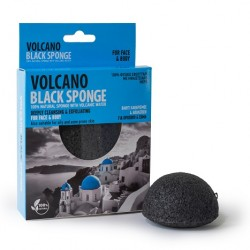 Volcano Black Sponge -  mini  7.5 cm
